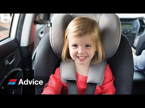 How to choose and fit a toddler car seat