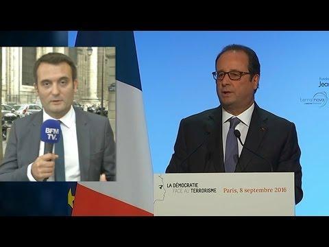 """Florian Philippot: """"François Hollande a du mépris pour le peuple et le référendum"""""""