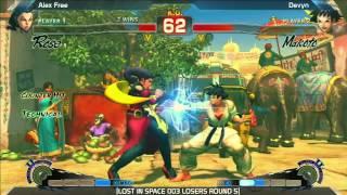 SSF4: Devyn vs Alex Free - LOST IN SPACE 003