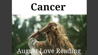 CANCER - 'ARE YOU GONNA TAKE THE BOAT OR MISS THE BOAT, BUDDY? - August Love Tarot Reading
