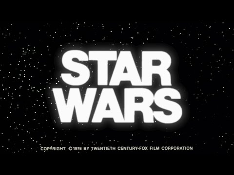 STAR WARS Original Trailer (Restored) - 1976