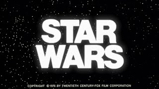 STAR WARS Original Trailer (Restored) - 1976