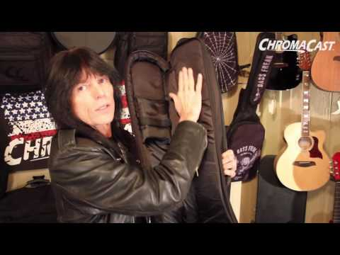 ChromaCast Rudy Sarzo Signature Pro Series Bass Guitar Gig Bag Demo with Rudy Sarzo