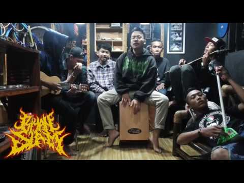 Cucak Rowo - Cover By BIYAN SLAM and friend AT roy barbershop