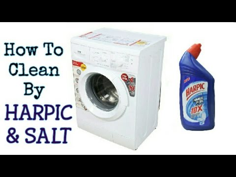 How To Clean Washing Machine With HARPIC and SALT   Electro Mall