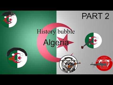 History Bubble independent Algeria