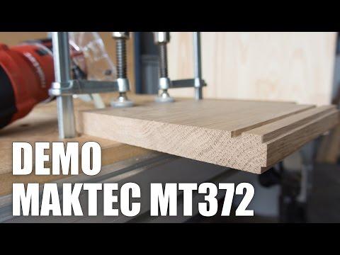 Démo Affleureuse Maktec MT372
