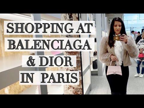 Luxury Shopping in Paris Part 1: Balenciaga, Chanel, Dior