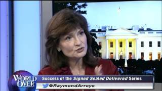 World Over - 2015-10-01 – 'Signed, Sealed, Delivered' preview-Martha Williamson with Raymond Arroyo