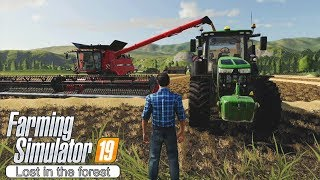 Massive harvest, new grass mower? ★ Farming Simulator 2019 Timelapse ★ Grizzly Mountain ★ Episode 22