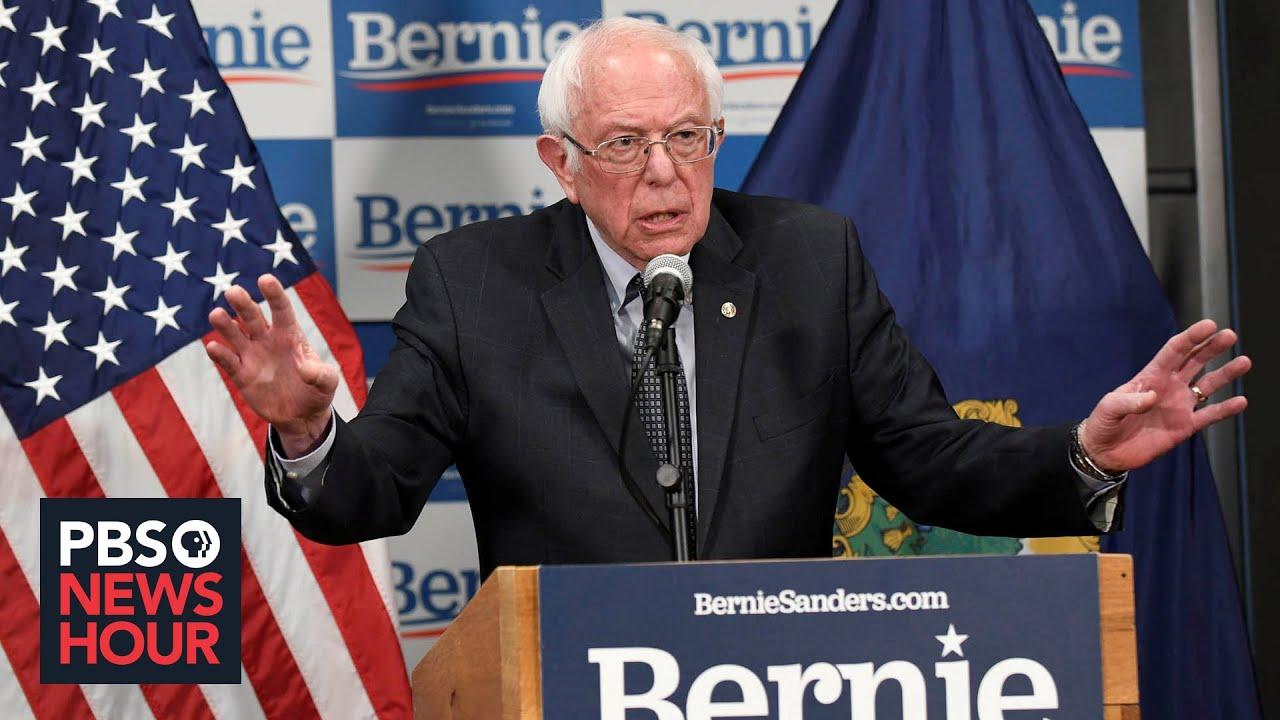 Bernie Sanders on pandemic health coverage and supporting Joe Biden