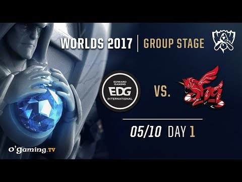 EDward Gaming vs ahq - World Championship 2017 - Group Stage - Day 1 - League of Legends