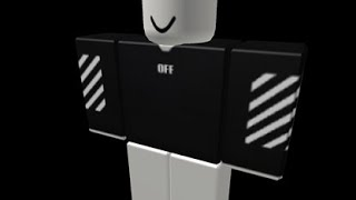 OFF-WHITE LONG-SLEEVE SHIRT[ ROBLOX SPEEDART SPEED×2 ]