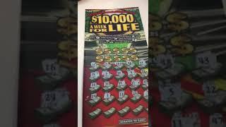 $20 Ticket - $10,000 A week for Life NY lottery - Will I win?