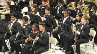 bumpus middle school symphonic band spring 2017 concert
