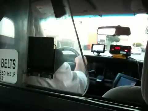 Cab to Santa Monica