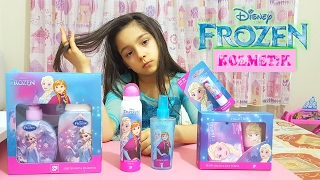 Bakımsız Ve Kirli Elsa Magic Frozen Cosmetic Products , kids make up | Funny Kids Video