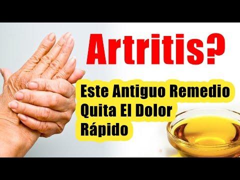 Antiguo tratamiento para la artritis quita el dolor rapido REMEDIOS CASEROS PARA LA ARTRITIS