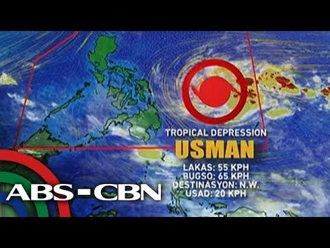 Bagyong Usman, inaasahang lalakas pa bago mag-landfall