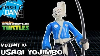 Usagi Yojimbo Teenage Mutant Ninja Turtles Mutant XL TMNT Action Figure Video Review