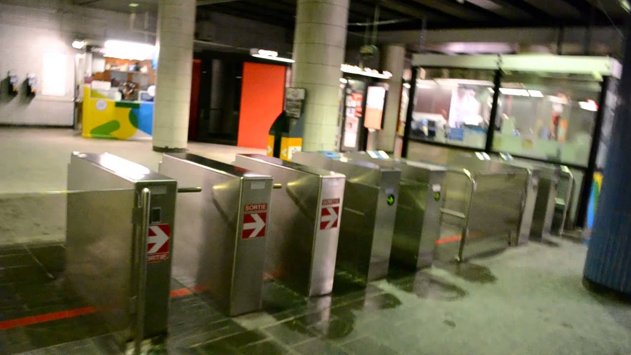 Montreal stm jean talon metro station youtube for Meubles montreal jean talon