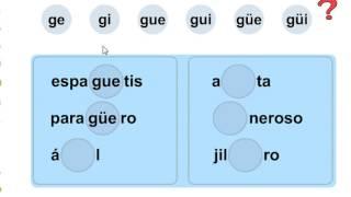 GE GI GUE GUI Güe Güi