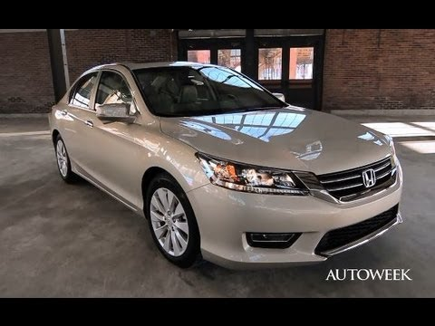 2013 honda accord ex l autoweek long term intro video for Honda accord exl 2013