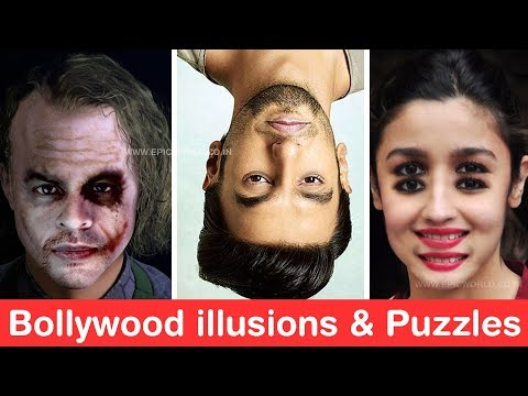 Guess Bollywood illusions, Puzzles & Memes - Ultimate Joker Challenge
