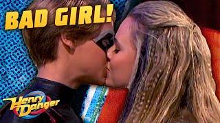 Kid Danger Kisses A Bad Girl 😘 | Henry Danger
