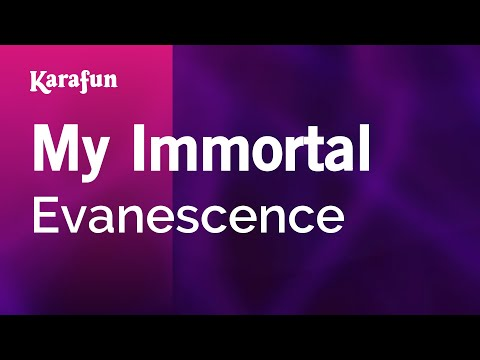 My Immortal - Evanescence | Karaoke Version | KaraFun