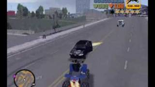 Yamaha Blaster Quad Bike in GTA3 New York City Mod