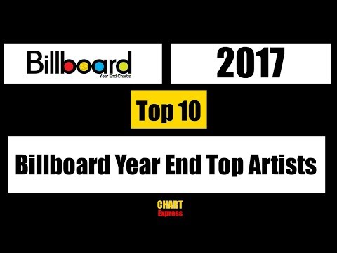 Billboard 2017 | Year End Top Artists 2017 | Top 10 | ChartExpress