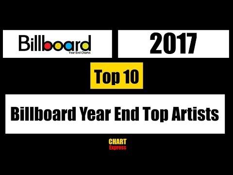 Billboard 2017 | Year End Top Artists 2017 | Top 10 | ChartExpress