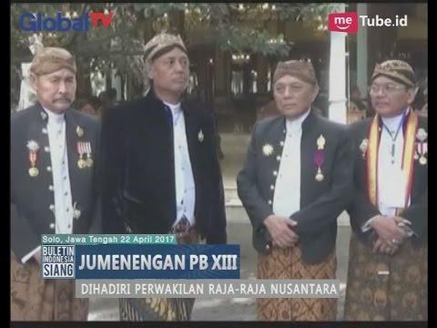 Acara Jumenengan Pakubuwono XIII Kraton Surakarta Dihadiri Raja - Raja Nusantara - BIS 23/04