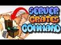 Minecraft Command Block Creation Tutorial (Server Crates) MCPE/XBOX ONE/WINDOWS 10