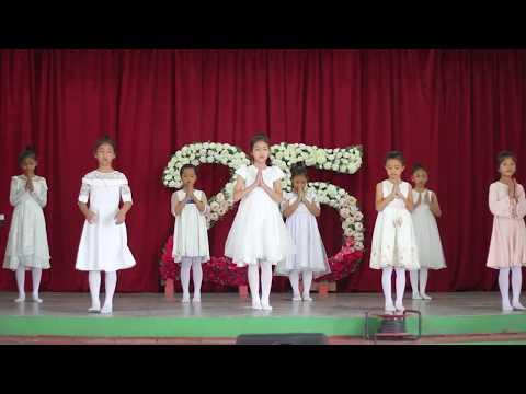 St.Lawrence School Ramthar Veng Silver Jubilee Celebration (Primary Sec Cl Kg I - Cl V) Day 1