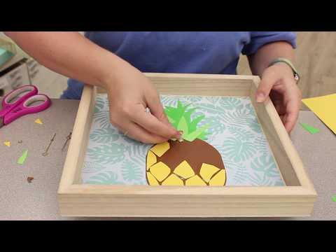 Crankin' Out Crafts ep - 547 Wood Surface Dock Pineapple