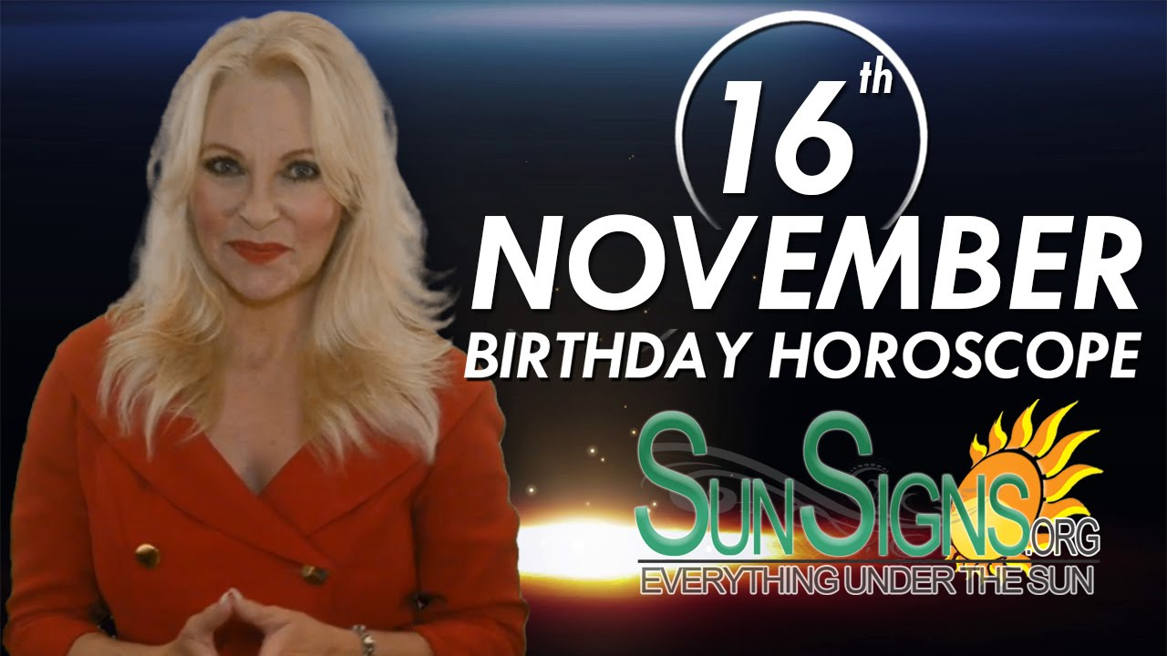 born 16 november capricorn horoscope