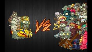 PvZ 2 - Mod - Egypt Gargantuar vs All Gargantuar