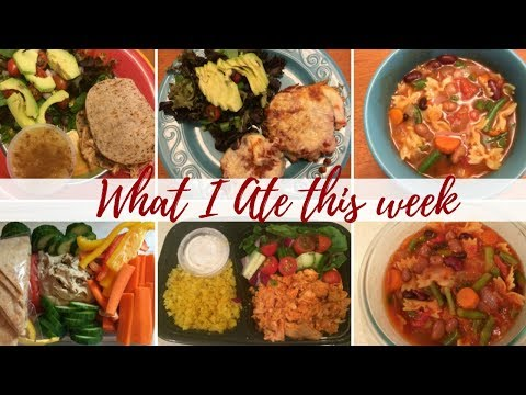 what-i-ate-this-week-|-eggplant-parm,-minestrone-soup,-jalapeno-popper-chicken