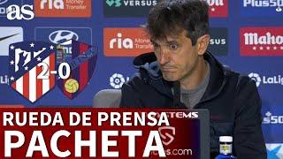 ATLÉTICO 2 - HUESCA 0 | Rueda de prensa de PACHETA | Diario AS