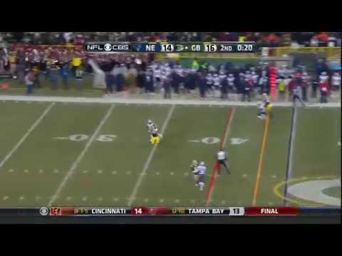 Jordy Nelson touchdown vs Patriots