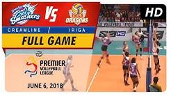 PVL RC Season 2 - WD: Cool Smashers vs. Lady Oragons   Full Game   2nd Set   June 6, 2018