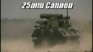 25 MM cannon minigun showdown US military shoot