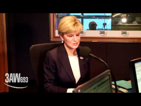 """Julie Bishop's """"gotcha moment"""" while talking superannuation with Neil Mitchell on 3AW"""