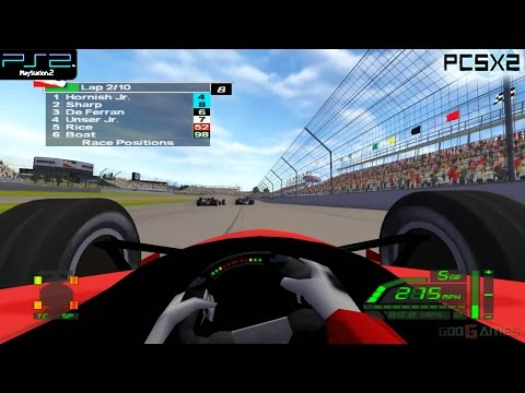 IndyCar Series - PS2 Gameplay 1080p (PCSX2)