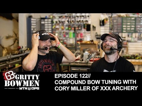 Episode 122: Compound Bow Tuning with Cory Miller of xXx Archery