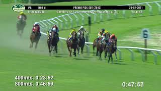 Vidéo de la course PMU PREMIO PICK OUT 2012