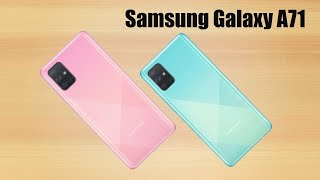 Samsung Galaxy A71 - 64MP Quad Camera Launch Date, Specifications & Price in India - First Look!