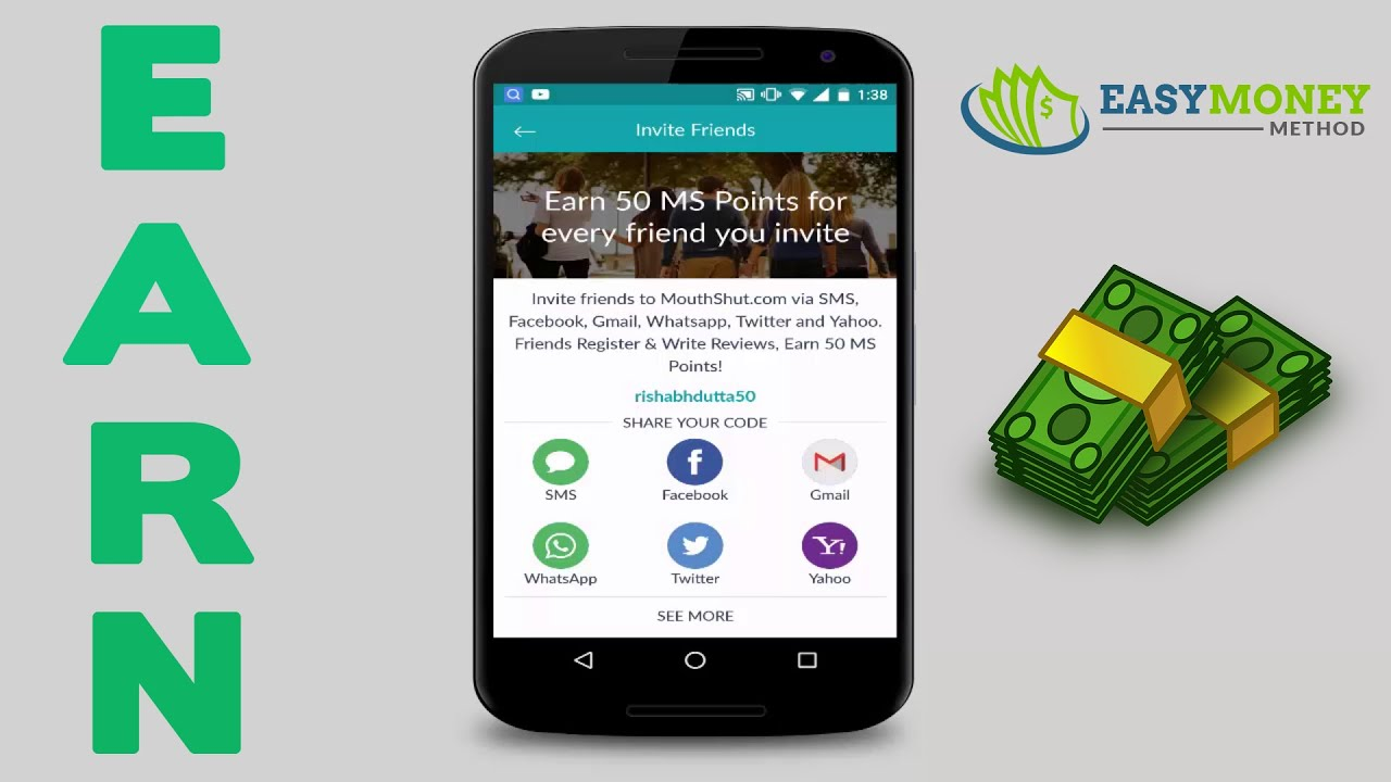 [ ���िन्दी ] Earn Money Online Using Android  Effortless  Youtube